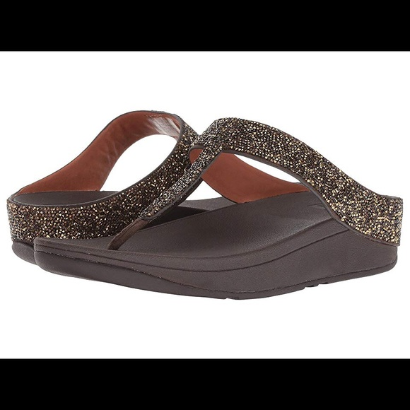 1f92198faf4e4d Fitflop Fino Quartz New With Tags Size 10 Gold